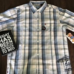 Quiksilver Shirts & Tops - NWT Quicksilver Button Front Slim-fit Shirt